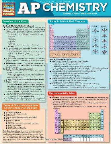Ap Chemistry (Quick Study Academic)