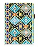 FYY Case for Samsung Galaxy Tab S2 9.7 - Premium Leather Case Stand Cover with Card Slots, Note Holder, Elastic Strap for Samsung Galaxy Tab S2 9.7'' Pattern 2 (With Auto Wake/Sleep)