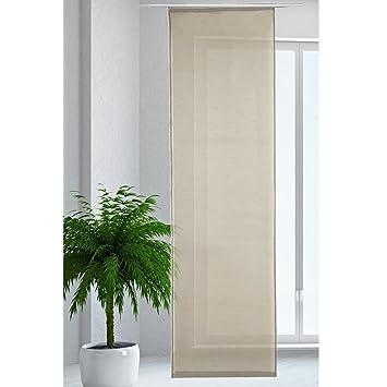 Flächenvorhang Schiebegardine Schiebevorhang Gardine Vorhang transparent