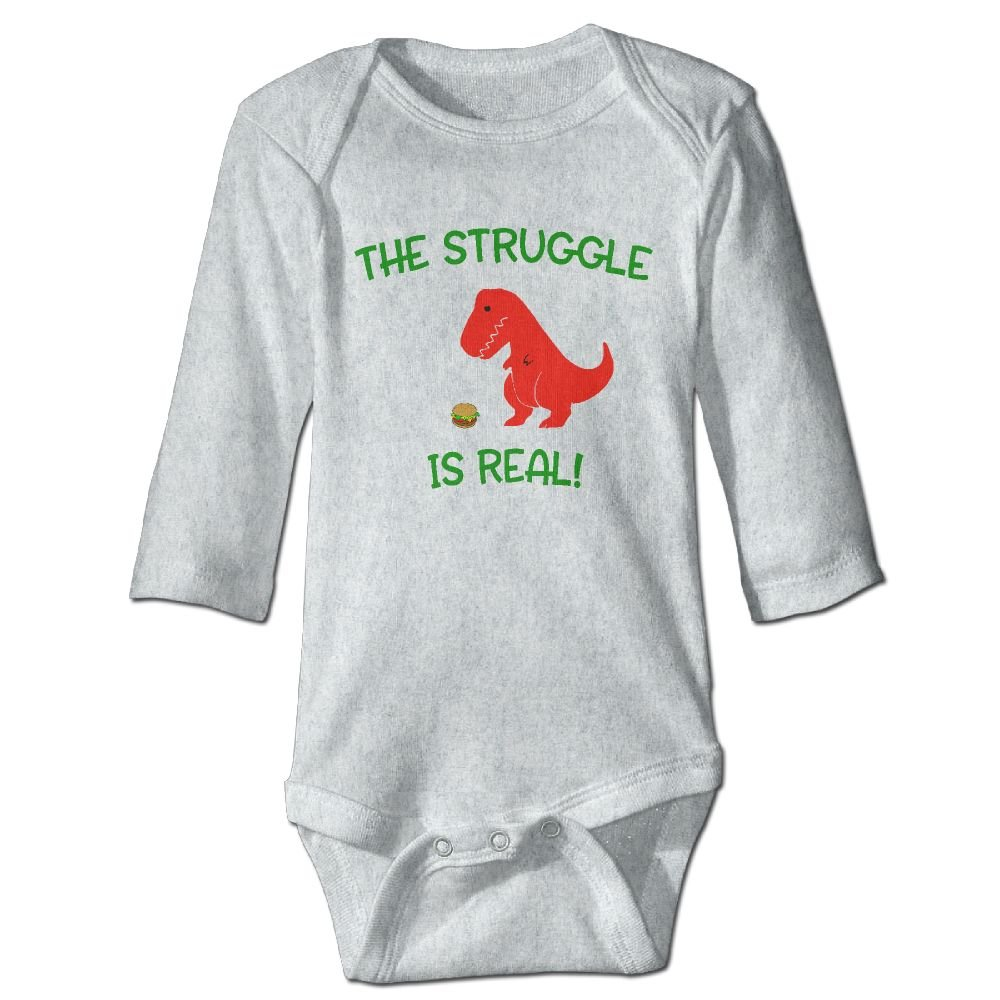 Wangyi Struggle Is Real Baby Jumpsuit Infant Boy Girl Clothes Cotton Romper Bodysuit Onesies