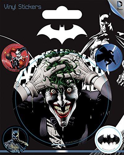 Pegatina Vinilo DC Originales Harley Quinn