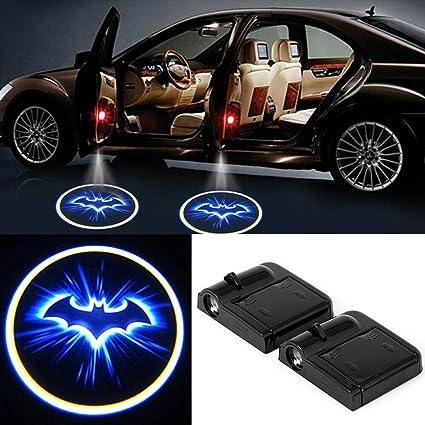 HERCHR luz de bienvenida para puerta de coche, proyector LED 3D ...