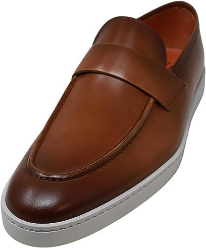 Santoni Men's Pace Cognac Ankle-High