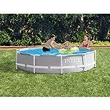 "Intex 10' x 30"" Above Ground Swimming Pool w/ 330"