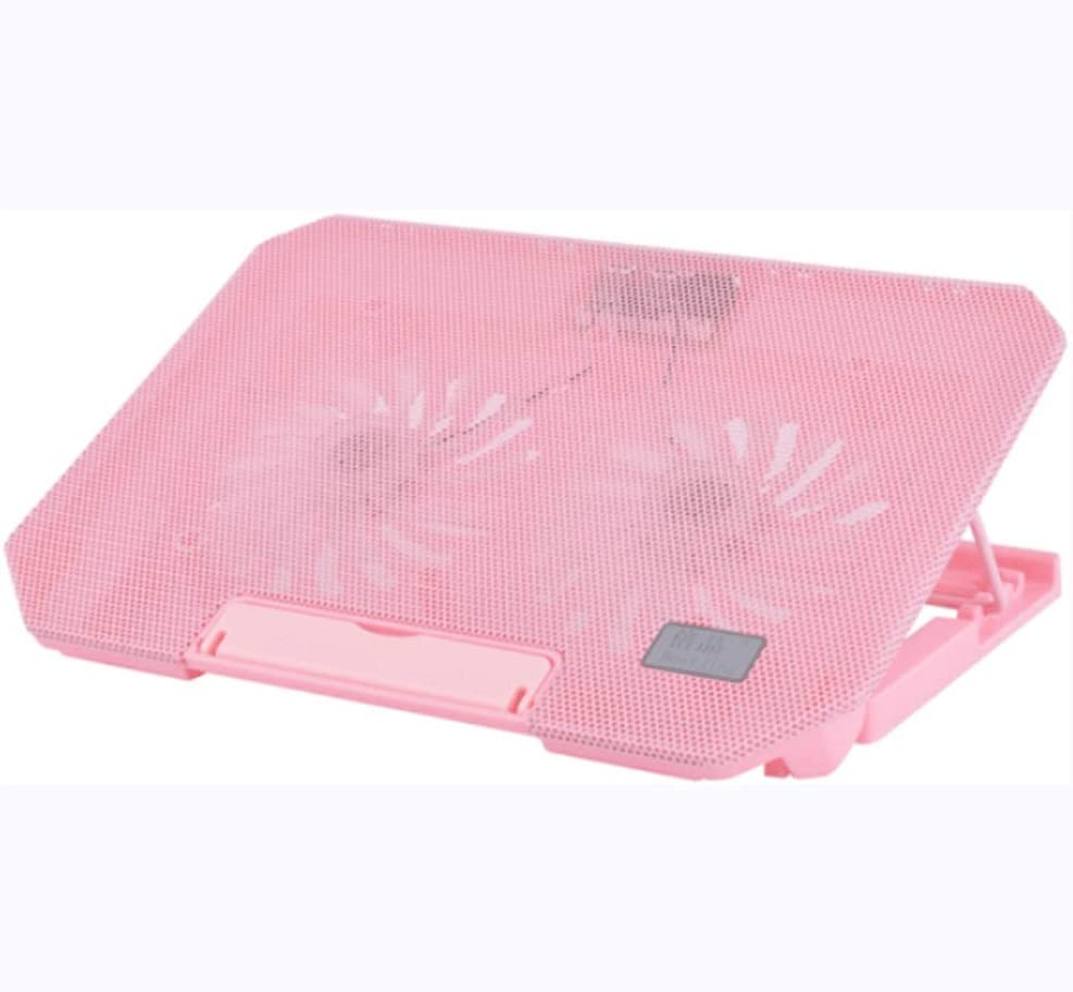 Color : Black Chenjinxiangou01 Notebook Cooler with USB to USB Cable ,All-Round Cooling Computer Stand//Base Fan Heightening Bracket