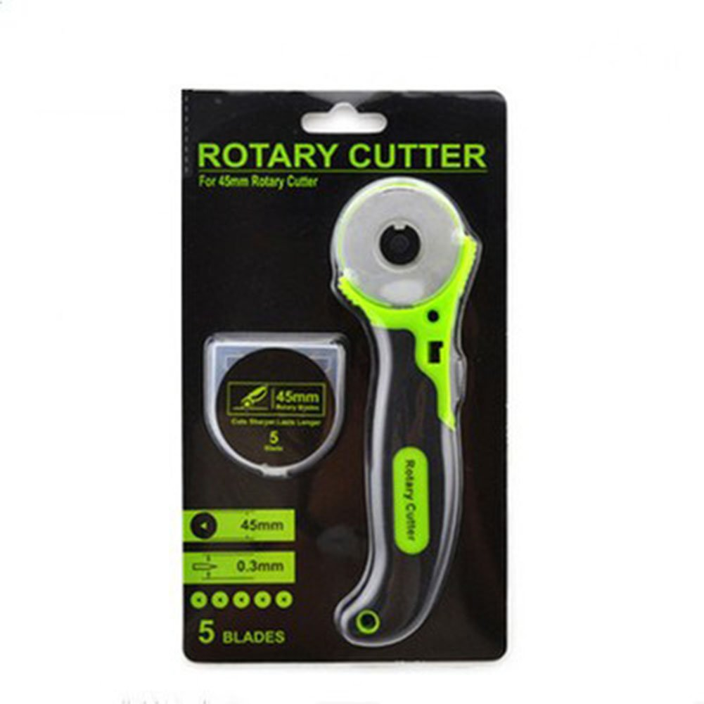 ETbotu 45mm and 28mm Rotary Cutter for Fabric Leather PU Cutting Craft Art Tool School Office Supploes by ETbotu (Image #1)