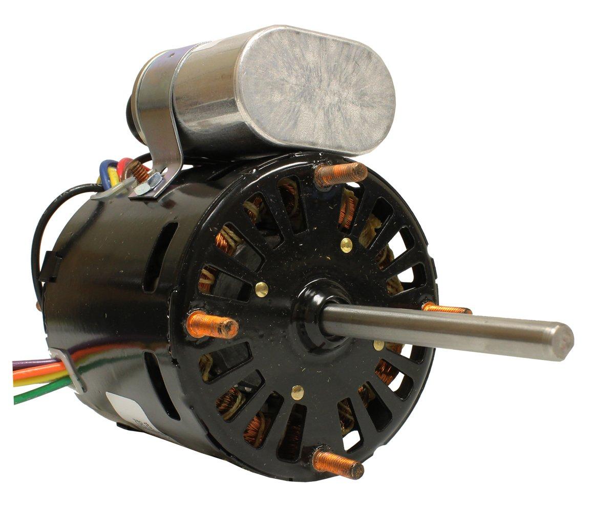 Fasco D1127 Blower Motor, 3.3-Inch Frame Diameter, 1/12 HP, 1550 RPM, 115, 230-volt, 1.1-Amp, Sleeve Bearing