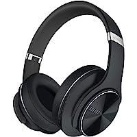 DOQAUS Auriculares Inalámbricos Diadema, [52 Hrs de Reproducción] Hi-Fi Sonido, Cascos Bluetooth con 3 Modos EQ…
