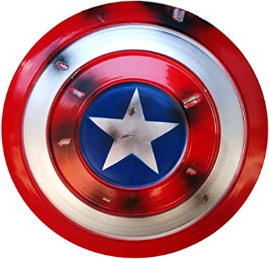 """Captain America Shield for Kids Cosplay Props Red 14/"""""""