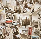 Size: 14.3 x 9.3 cm Old travel postcards including 32 old beautiful pictures from the world famous cities.The best choice to send as a gift or send to someone.Worth for collecting. Ideal for collectors, Postcrossing, scrapbooking, school post...