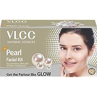 VLCC Pearl Facial Kit, 60g+FREE(white & bright glow creme 20g)