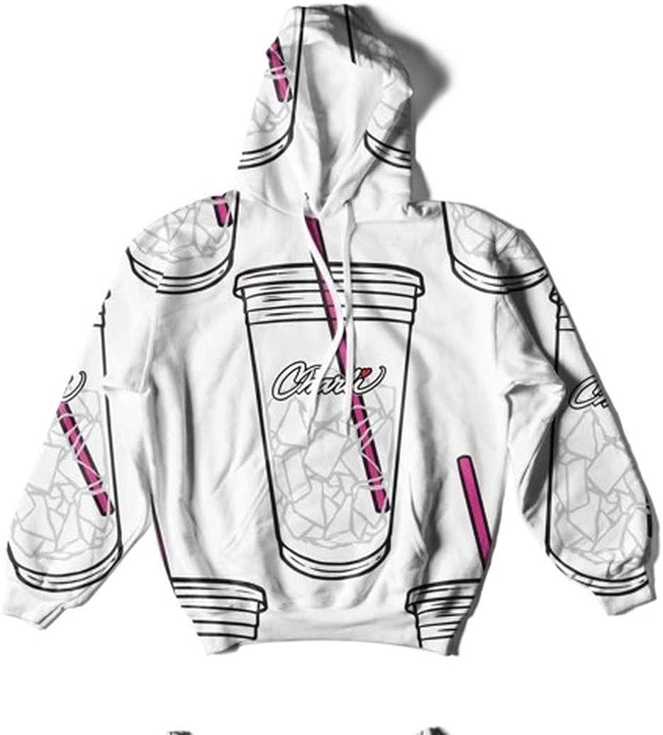 WAWNI 3D Charli DAmelio Ice Coffee Splatter Hoodies Sweatshirts Men Women  Hoodie Harajuku Costume Tracksuit: Amazon.de: Bekleidung