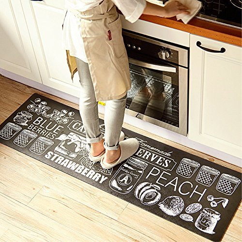 - Ustide Classic Anti-Fatigue Kitchen Comfort Chef Floor Mat, 17.7x70.9