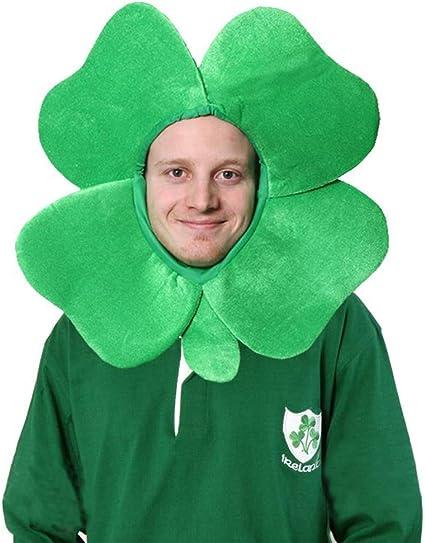 CA1047 Lucky Irish Shirt Saint Patrick Leprechaun Shamrock Costume Accessory Kit