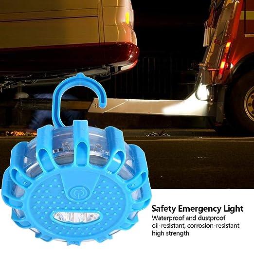 Riuty Luces de Rescate de Carretera 1# Luces de Advertencia de Luces de Advertencia nocturnas de Destellos de autom/óviles para se/ñalizaci/ón Vial Iluminaci/ón de Emergencia