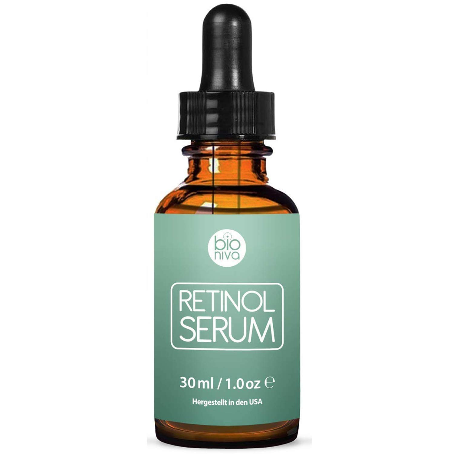 Retinol Serum - Retinol Liposome Delivery System with Vitamin C, Aloe, and Vegan Hyaluronic Acid - High Strength Anti Aging Serum for face, décolleté and body from Bioniva 30ml