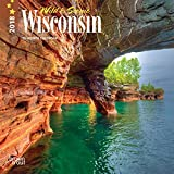 Wisconsin, Wild & Scenic 2018 7 x 7 Inch Monthly Mini Wall Calendar, USA United States of America Midwest State Nature
