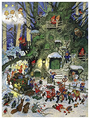 Lampionzug Adventskalender Kalender – Adventskalender, 1. Januar 2000 Fritz Baumgarten 3782705718 MAK_9783782705714 Kunst