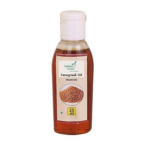 Hebsur Herbals Fenugreek Oil (Methi Oil) 25 Ml