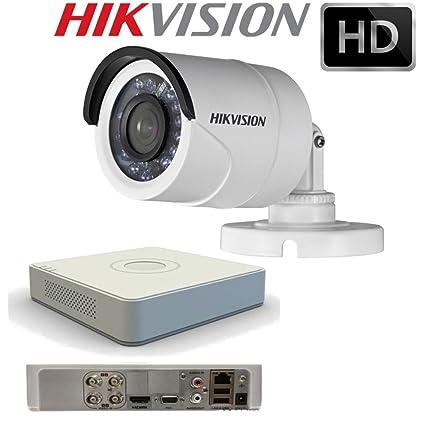HikVision - Kit compuesto por un DVR DS-7104HGHI-F1 y un DS-