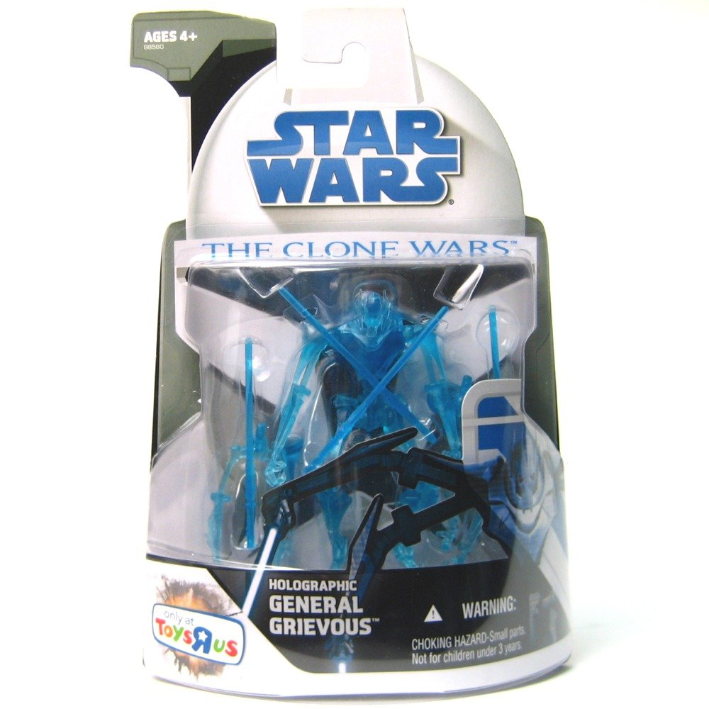 muchas concesiones Star Wars The Clone Wars Holographic General Grievous figure figure figure  mejor calidad
