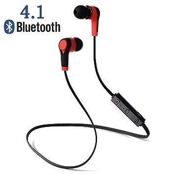 XCSOURCE Auricular Bluetooth sin manos Bluetooth 4.1 Auricular estéreo del funcionamiento del deporte con el micrófono para el iPhone Samsung HTC ...