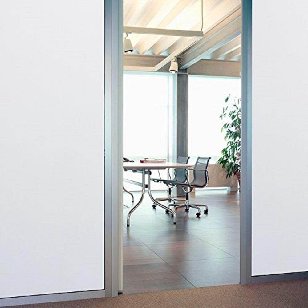 Coavas Frosted Privacy Window Film Non-Adhesive Window