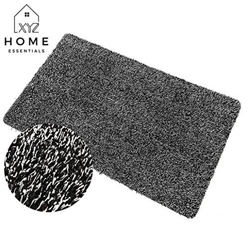 XYZ Home Essentials Door Mat Indoor Small Doormat Absorbent Non Slip Welcome Door Mat Garage Door Mat Bathroom Mat Machine Washable