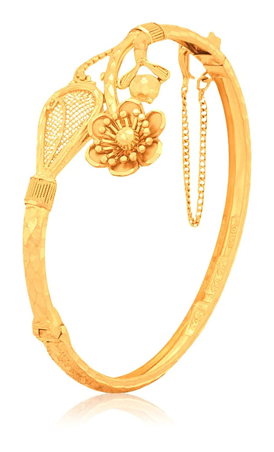 bridal bangles bangle yellow gold jacknjewl pure com