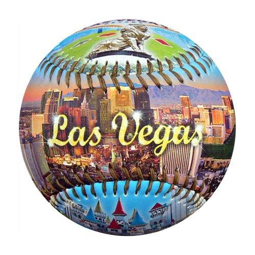 EnjoyLife Inc Las Vegas by Day Souvenir Baseball