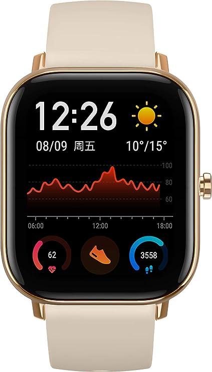 Amazfit GTS Smartwatch - Desert Gold: Amazon.es: Deportes y aire libre