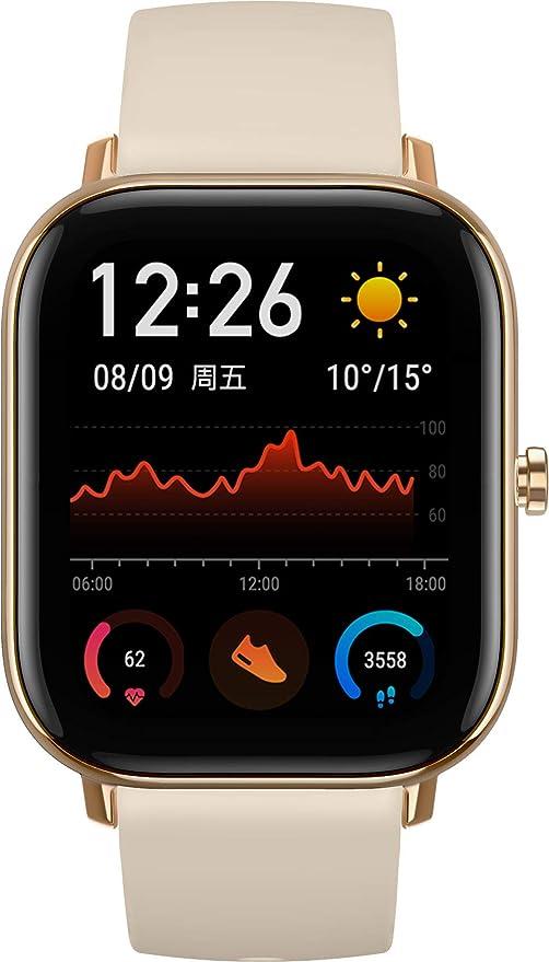 Amazfit GTS Smartwatch Desert Gold