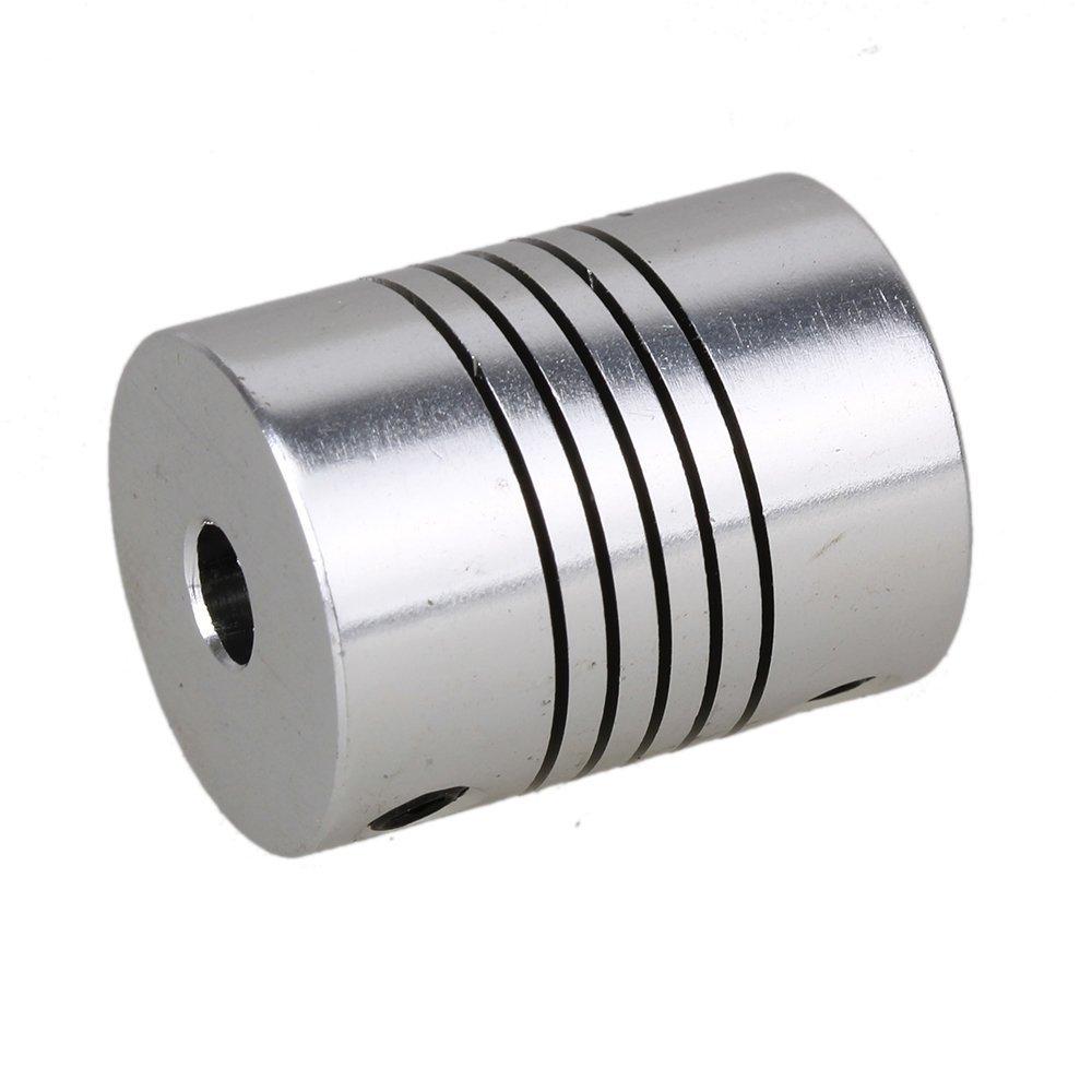 BQLZR 5 x 5 mm D19L25 Flexible Shaft Coupling CNC Stepper Motor Encoder Coupler Pack of 2 BQLZRN08921