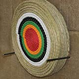 TOPARCHERY 3D Arrow Target Straw Single Layer Round for Recurve Crossbow Hunting Shooting Game Practice Targets 24x24inches