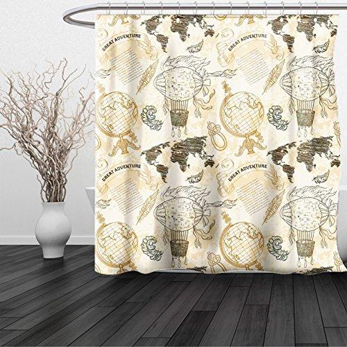 dean russo shower curtain - 6