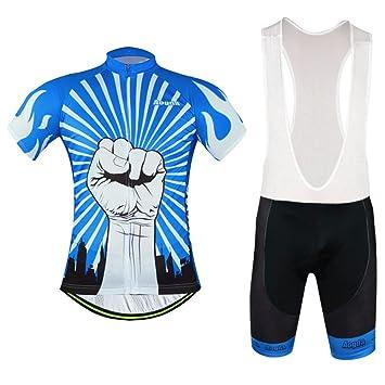 2016 Aogda Blue Mens Short Sleeve Cycling Jersey Comfortable Breathable Man  Shirts Sportswear Cycling Clothing ( def92dc80