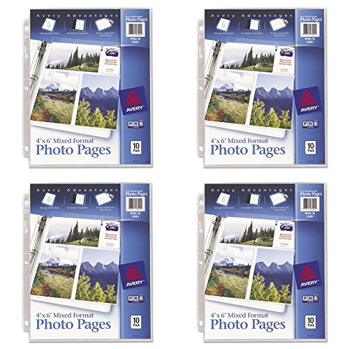Avery Mixed Format Photo Pages, Acid Free, Pack of 10 (13401), 4 - Photo Avery