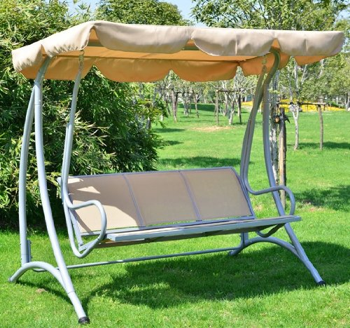 Outsunny Covered Outdoor Patio Swing product image