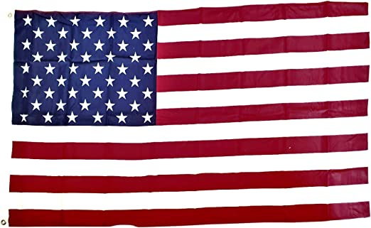 Flags American Denier 300 Thick Heavyweight Fabric Usa Souvenir Stars And Stripes Red White And Blue Us Old Glory 4th Of July 5 X 3 Feet 150 X 90 Centimetres Outdoor Or Indoor