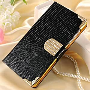 10 pcs/lot fashion Wallet style Bling PU Leather Case For Huawei Honor 3C Shining Phone Bag Rhinestone Flip Cover Wholesale --- Color:White