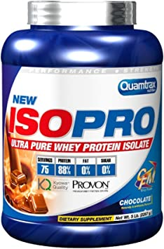 Quamtrax isopro whey protein isolate - 2267gr. 100% puro ...