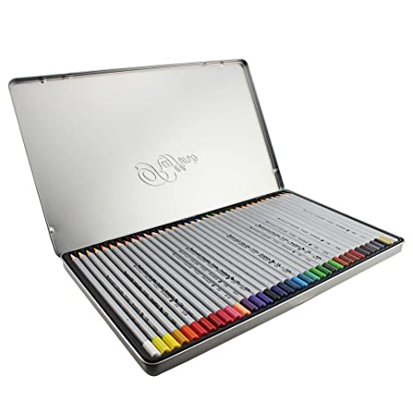 NIUTOP Marco Juego de colores Lápices profesionales Artificial de gran calidad de dibujo Lápices/Crayons