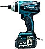 マキタ 4モード・インパクトドライバTP141(18V)青 トルク150Nm  6Ahバッテリ2本・充電器付 TP141DRGX