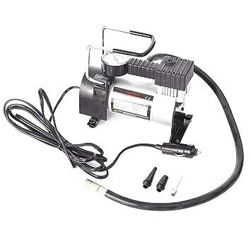 Katurn Compresor de Aire Eléctrico Conjunto Herramientas, 150PSI 120W Bomba Inflador de Aire, para Neumáticos Coche Moto Bicicletas Otros Inflables: ...