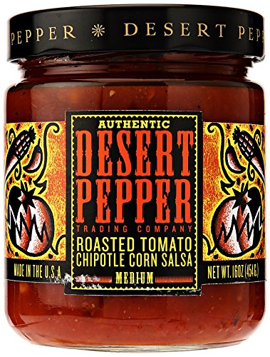 Desert Pepper Trading Company, Roasted Tomato Chipotle Salsa, 16 oz