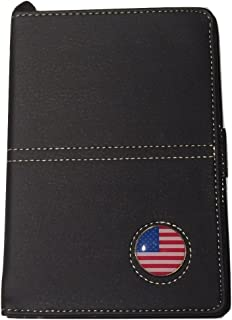 Golf Leather Scorecard Holder And Yardage Book Cover With Ball Marker