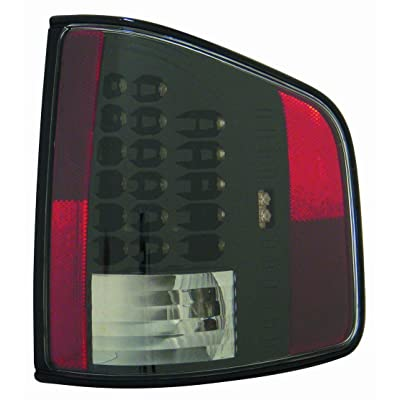 Depo M32-1901P-US2 Black LED Tail Light: Automotive