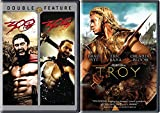 Ancient Battle Action Movie Triple Feature - Troy & 300 & 300 Rise of an Empire