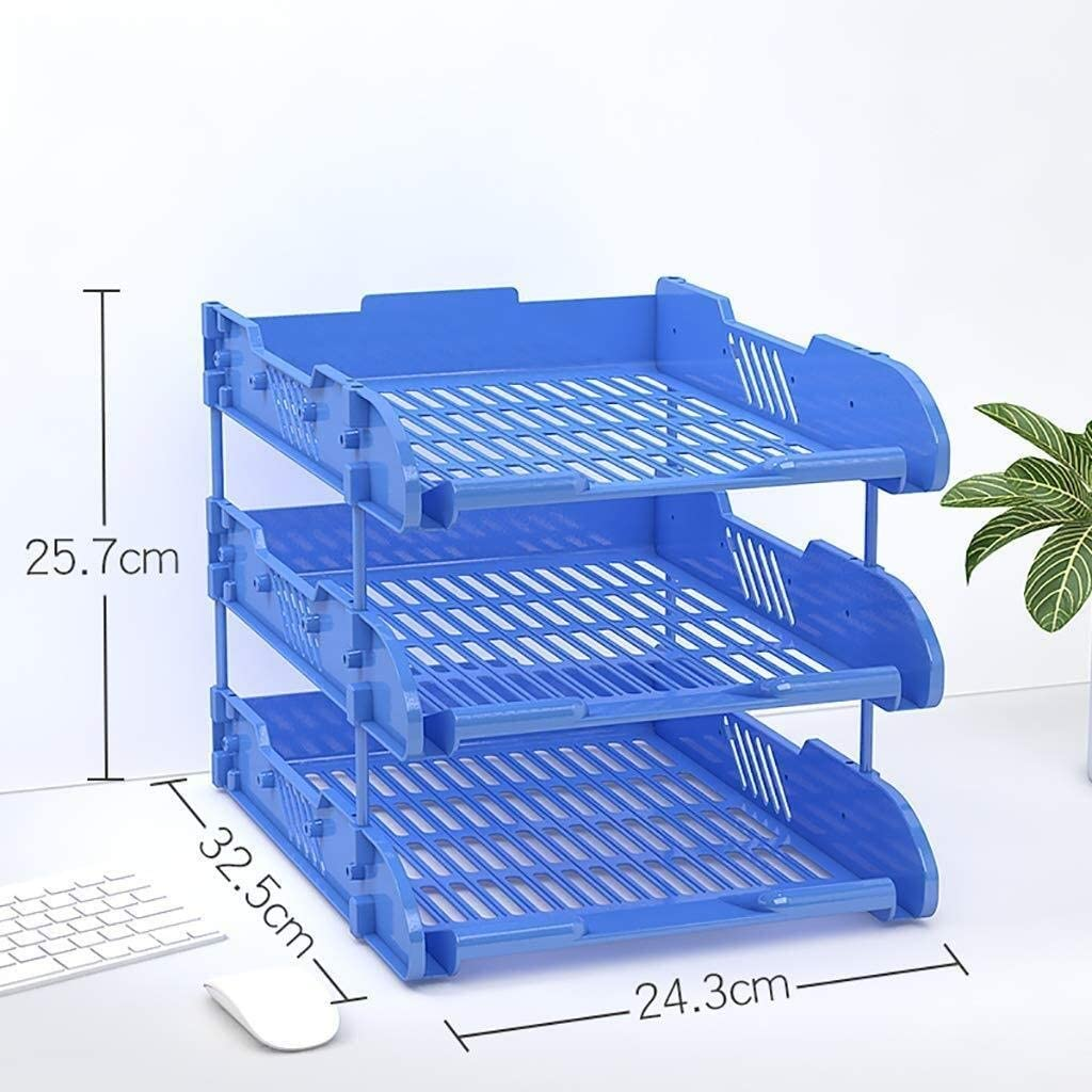 24.3X32.5X25.7CM File Cabinets Robust Impact Polystyrene Environmental Protection Wide Frontal Cut-Out Metal Riser Rods Elegant Lines Plastic Color : A1 Home Office Furniture