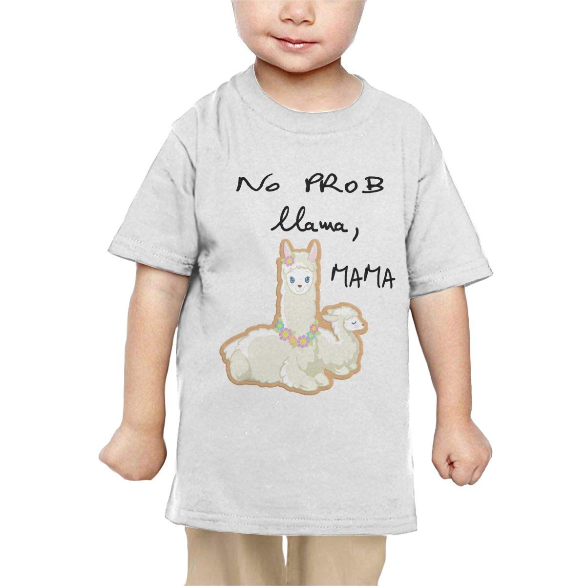 Chunmmmmm No Prmb Mama Baby Girl Short Sleeve Crewneck Cotton Tshit